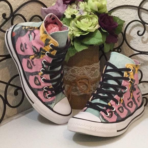3bd5fe4ecdab0e Converse Shoes - CONVERSE ALL⭐️STAR✨Iconic Marilyn👄Monroe🎥Highs